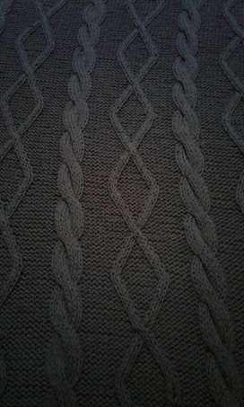 Pie de cama de hilo de algodon 71 x 2