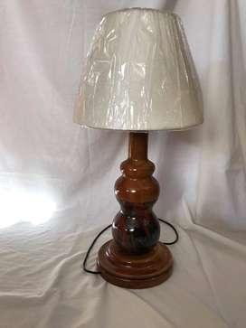 lampara madera dormitorio sala