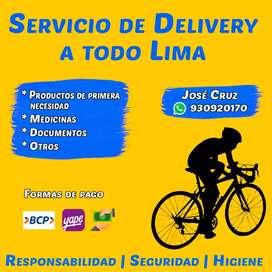 Se hace delivery en toda la zona de La Perla y San Miguel.