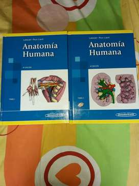 Vendo Libro de Anatomía Humana