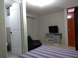 Alquilo habitaciones amobladas con baño propio en el centro de Tacna