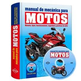 Libro Manual De Mecánica Para Motos