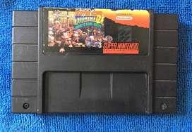 Donkey Kong 2 Super Nintendo