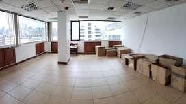 Oficina 115 m2 en arriendo, divisiones, la Carolina