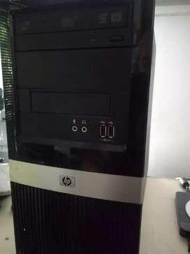 Vendo CPU HP dual core 2gb memoria Windows 10 disco 320 GB nuevo con garantía