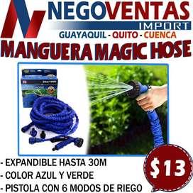 MANGUERA MAGIC HOSE DE 30M EN DESCUENTO EXCLUSIVO DE NEGOVENTAS, LOS MEJORES PRECIOS