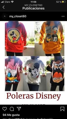 Poleras Disney