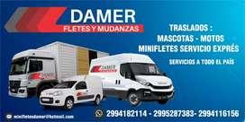 FLETES Y MUDANZAS DAMER