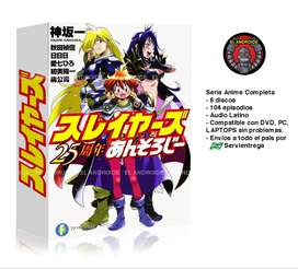 Slayers Serie Anime Completa