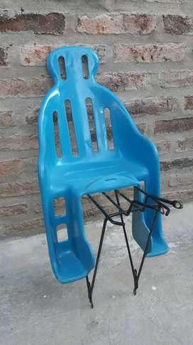 Soporte + Silla niños para Bicicleta