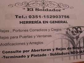 Trabajos en Herreria Mig Mag de Calidad OFERTAS FIN DE AÑO