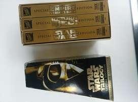 REMATO Trilogia en Vhs Star Wars 6 dvs