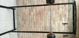 Rack (soporte ) para barra y dominadas
