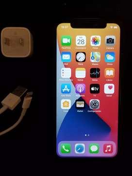 Iphone X gris de 64 Gb
