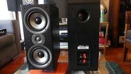 Parlantes Polk Audio Monitor 40 Series ll, bafles, monitores,infinity bose,technics, Kef, Klipsch,jamo,BW