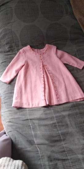 Vestido Rosa para bebé de 1 - 2 años