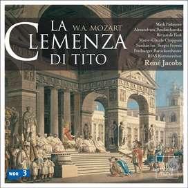 CDs- Wolfgang Amadeus Mozart 1: La clemenza di Tito - RIAS Kammerchor & Freiburger Barockorchester.