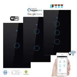 Interruptor Inteligente, 2 Botones, Wifi, Amazon, Googlehome