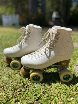 Patines Bota Risport Royal Pro plancha Dance ruedas Roll line Ice