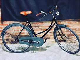 Vendo hermosa bicicleta clásica unica