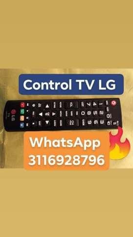 Control Tv Basico Lg