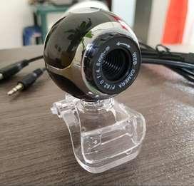 CAMARAS WEB IMAGEN NÍTIDA - MICROFONO INCORPORADO - CONEXION USB - CON GARANTIA