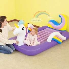 Cama Inflable Infantil Unicornio