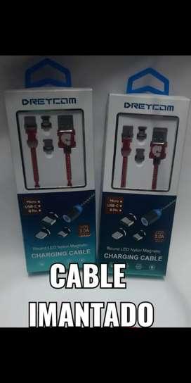 Cable imantado