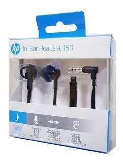 Audífonos Manos Libres Hp 150 In Ear Doha Plug 3.5mm