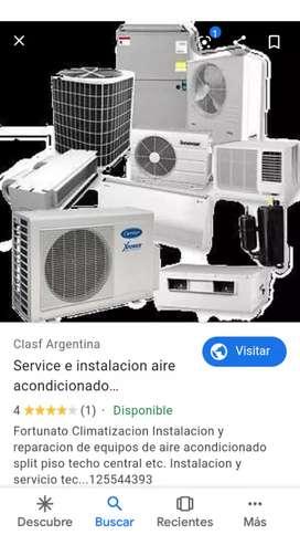 Instalación de aires acondicionados por 3000$