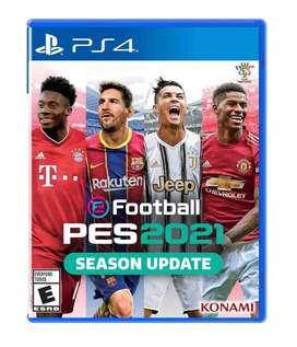 Pes 2021 Pro Evolution Soccer Ps4 Físico Entrega Inmediata!!
