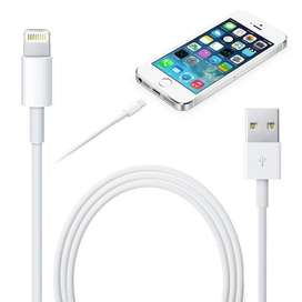 Cargador cable USB iPhone X 8 7 6 6s más 5 5s 5 iPod iPad SE