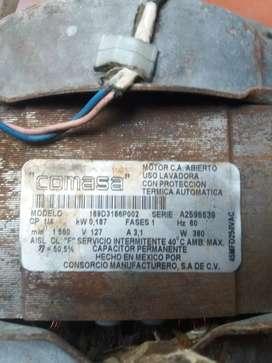 Motor lavadora 110v ac $150.000