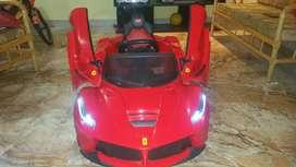 Auto a batería Ferrari