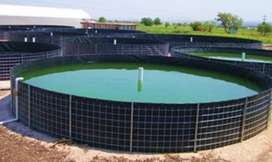 venta sistema RAS con aireacion peces PROMOCION !!consta de 4 tanques circulares en geomenbrana y sistema de aireacion !