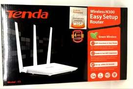 Router - repetidor - amplificador de señal wifi 3 antenas Tenda