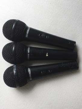 Micrófonos Dinámicos Behringer