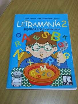 Vendo Libro Letramania 2