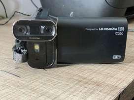 Video camara LG cinema 3D wifi