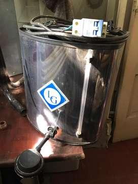 Calefon electrico 25 litros con llave termica