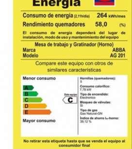 Vendo estufa abba AG201