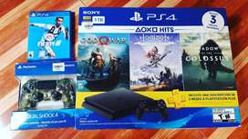 Playstation 4 + Control Camuflado Original+ Fifa 19