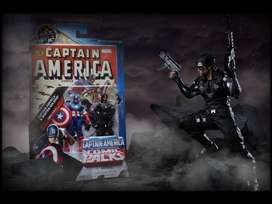 CAPTAIN AMERICA & WINTER SOLDIER / C. AMERICA THE FIRST AVENGER COMIC PACKS / Marvel Universe / pack sellado y nuevo
