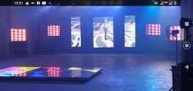 Vendo pantalla gigante Led P5 3x2 metros y procesador vwall