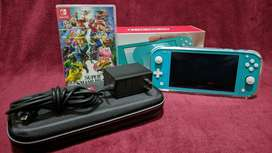Nintendo Switch Lite + Super Smash Bros