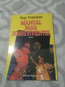 Manual para Sobrevivientes . Hugo Finkelstein . Novela Galerna 1995