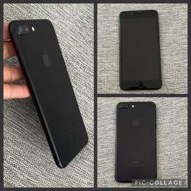 En venta iphone 7 plus color negro de 256 GB