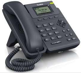 TELEFONO IP YEALINK T19 SIP C/ LINEA FIJA + INTERNO LOW COST