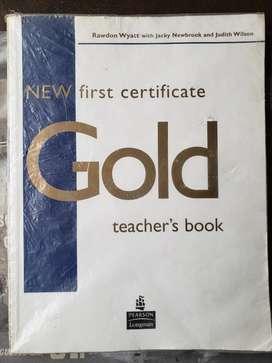 New Gold First Certificate - Teacher's Book