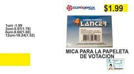 MICA PARA PAPELETA DE VOTACION